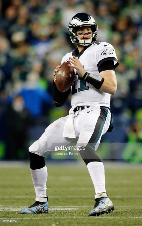 Of the Seattle Seahawks v the Philadelphia Eagles at CenturyLink Field on December 3, 2017 in Seattle, Washington.
