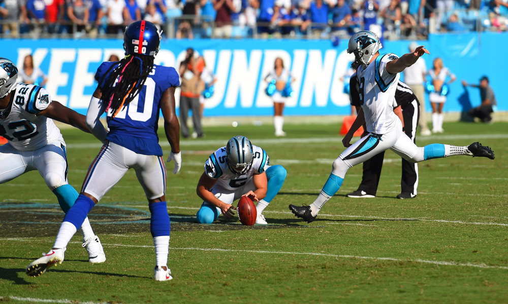 NFL: New York Giants at Carolina Panthers